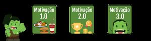 Os 3 tipos de motivação, da 1.0 a 3.0