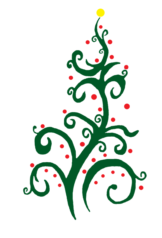 Christmas in Clawson Craft Show Tree Logo