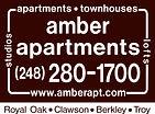 Amber Apartments - Royal Oak, Clawson, Berkley, Troy