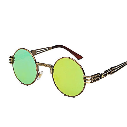 Retro Bronze frame Steampunk Sunglasses