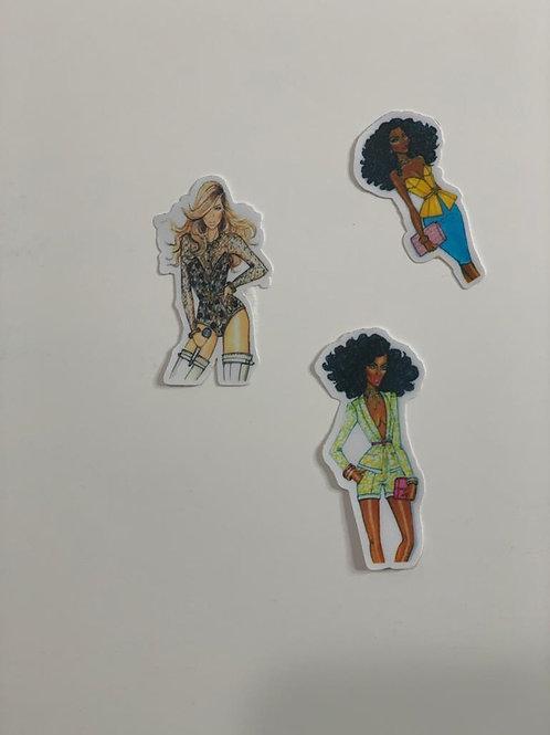 High Street Fashion sticker -II