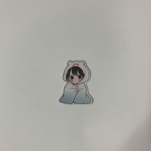 Korean-kid-Sticker