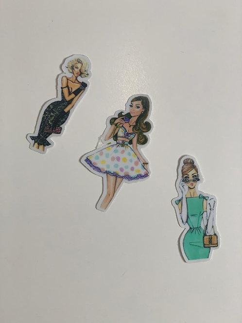 High Street Fashion sticker -III