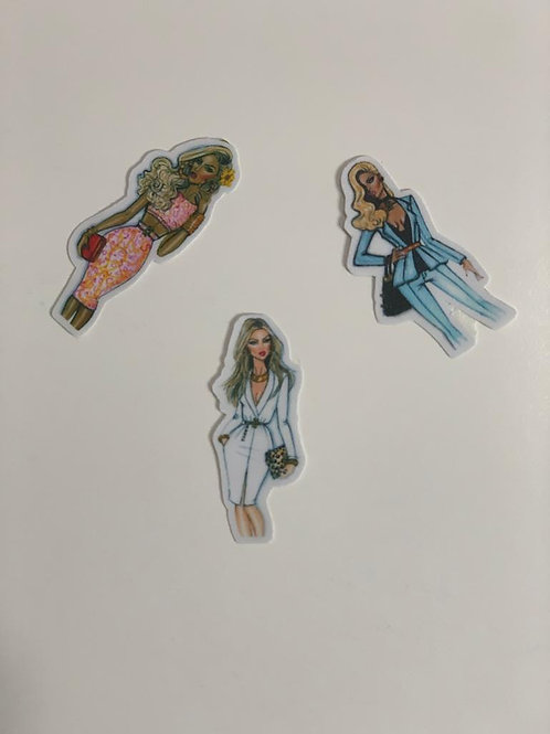 High Street Fashion sticker -IX