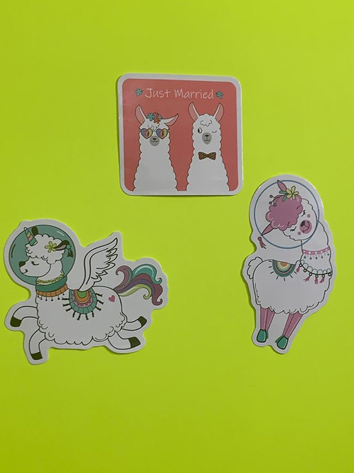 Llama Character Set - III