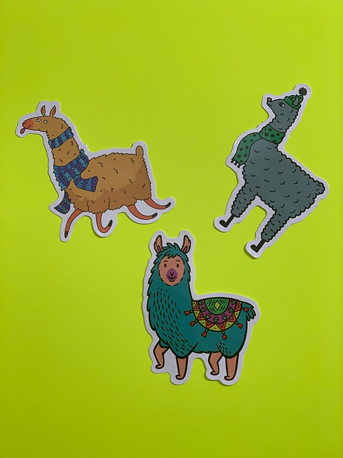 Llama Character Set VII