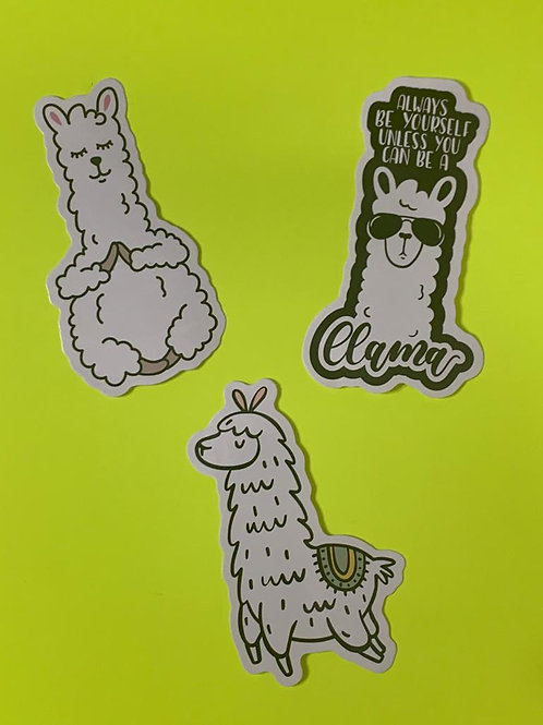 Llama Character Set V