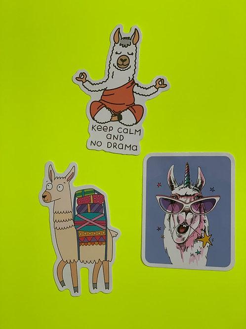 Llama Character Set IX