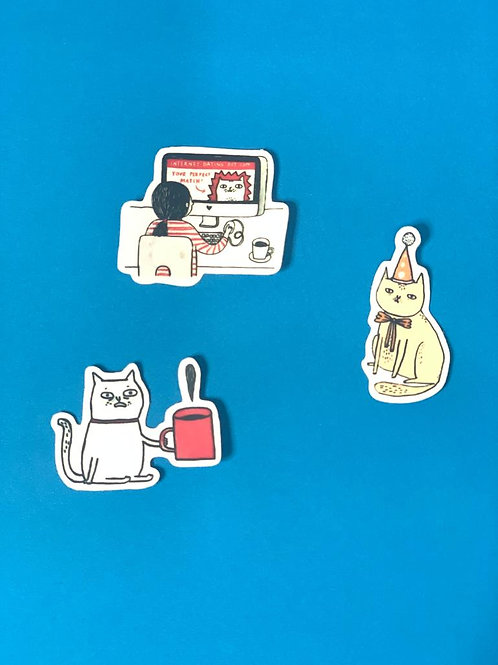 Forever Alone Character Stickers III