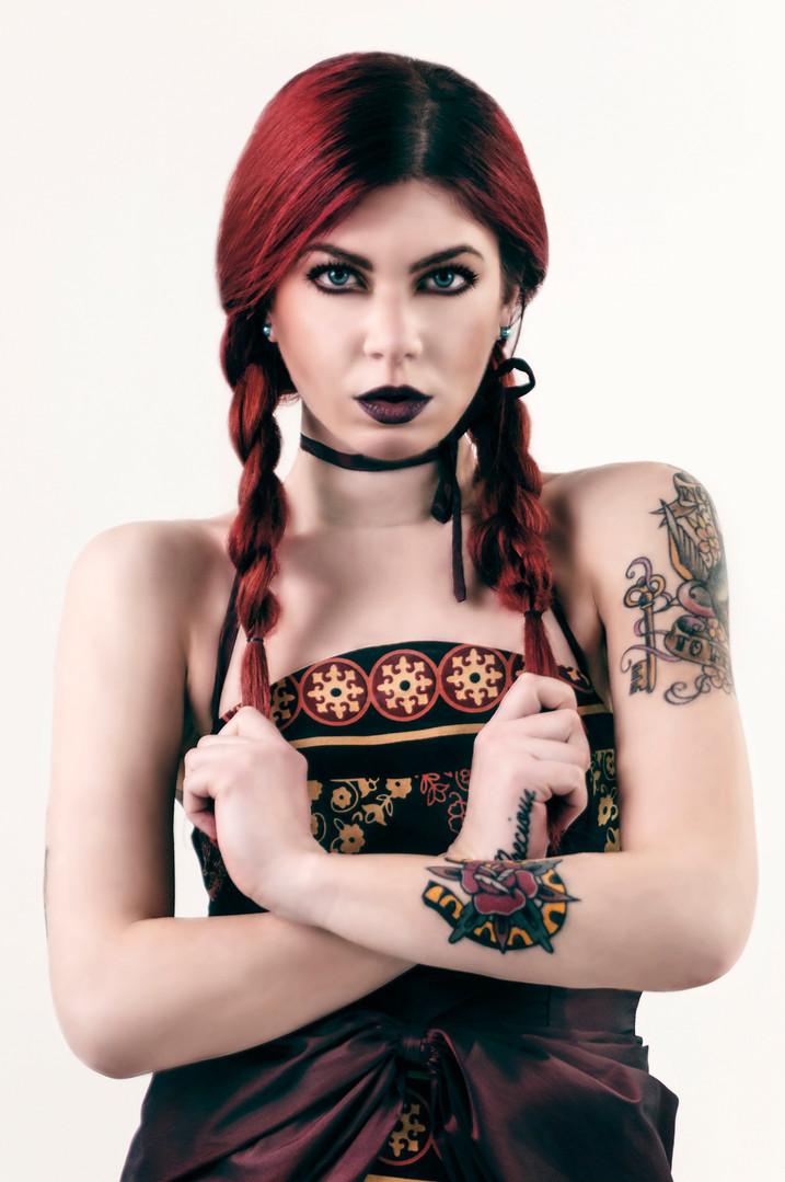 Model Ilaria Tenerini Mua Any Anastasia  Stylist Lucilla Ferretti Evento a cura di Gianluca Greco
