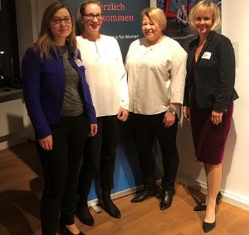 LAW in Frankfurt mit CEO Ketchum Pleon Dr. Sabine Hückmann