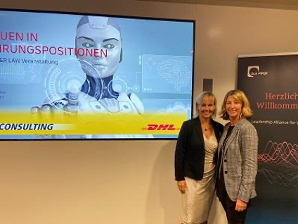 LAW mit CEO DHL Consulting Sabine Müller