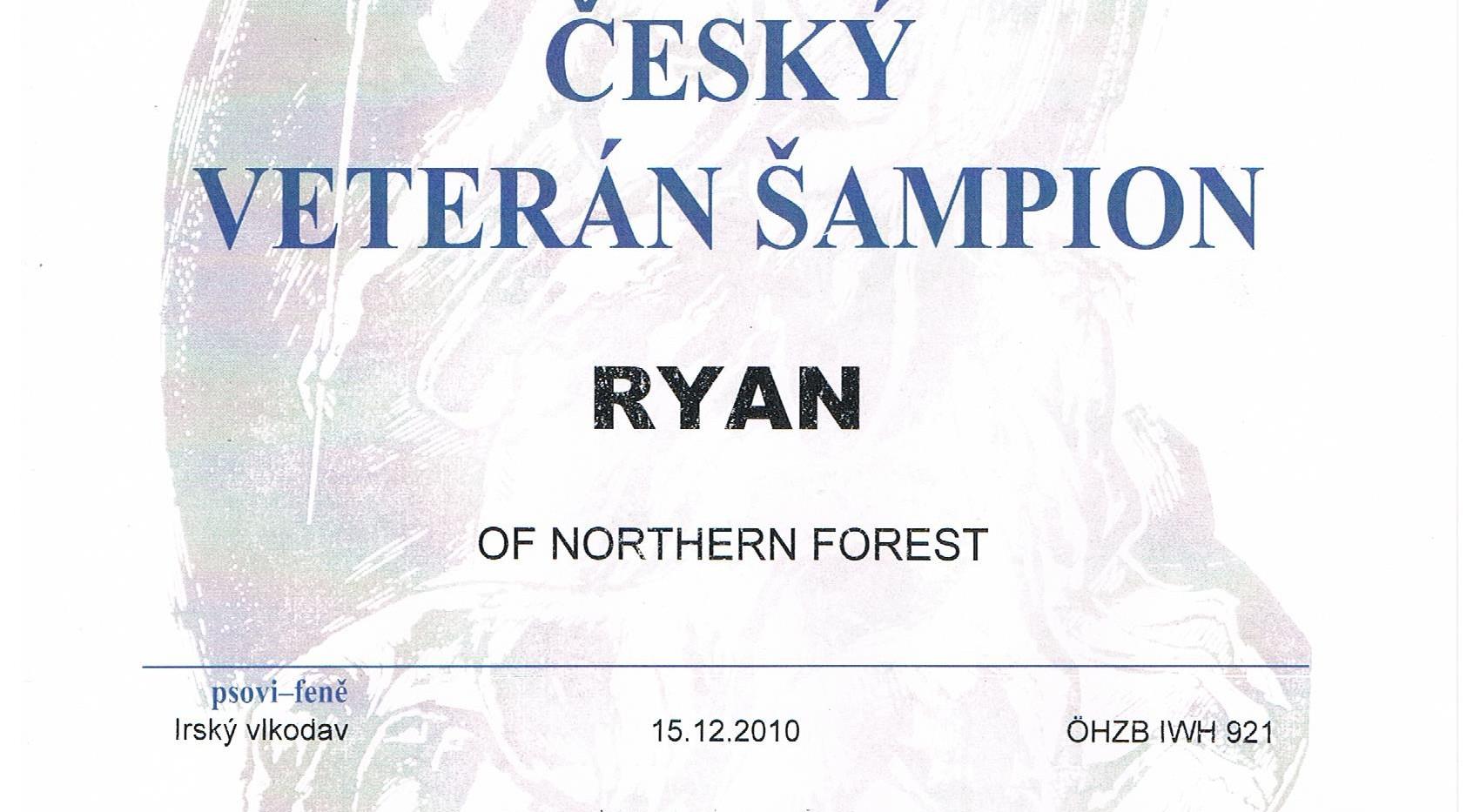 Tschechischer Veteranenchampion