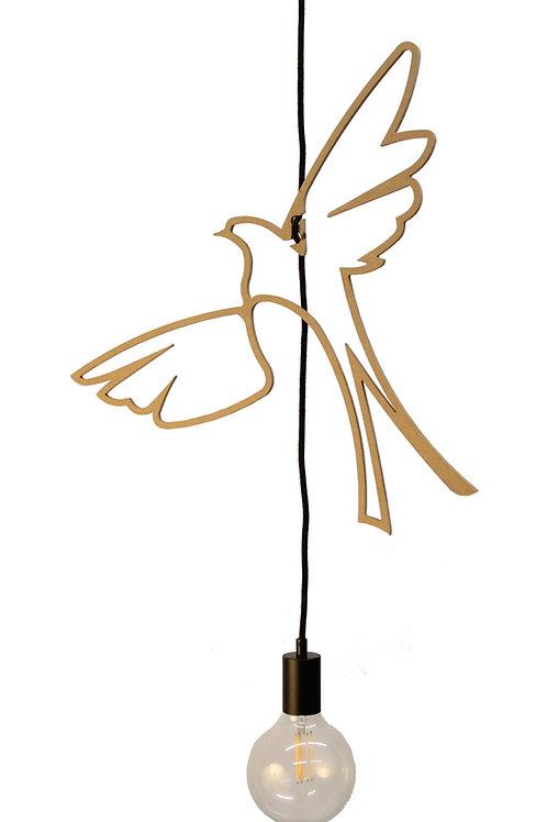 Suspension Bois Design Birds of paradise 50 cm