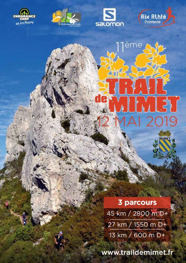 Trail de Mimet - Dimanche 12 mai