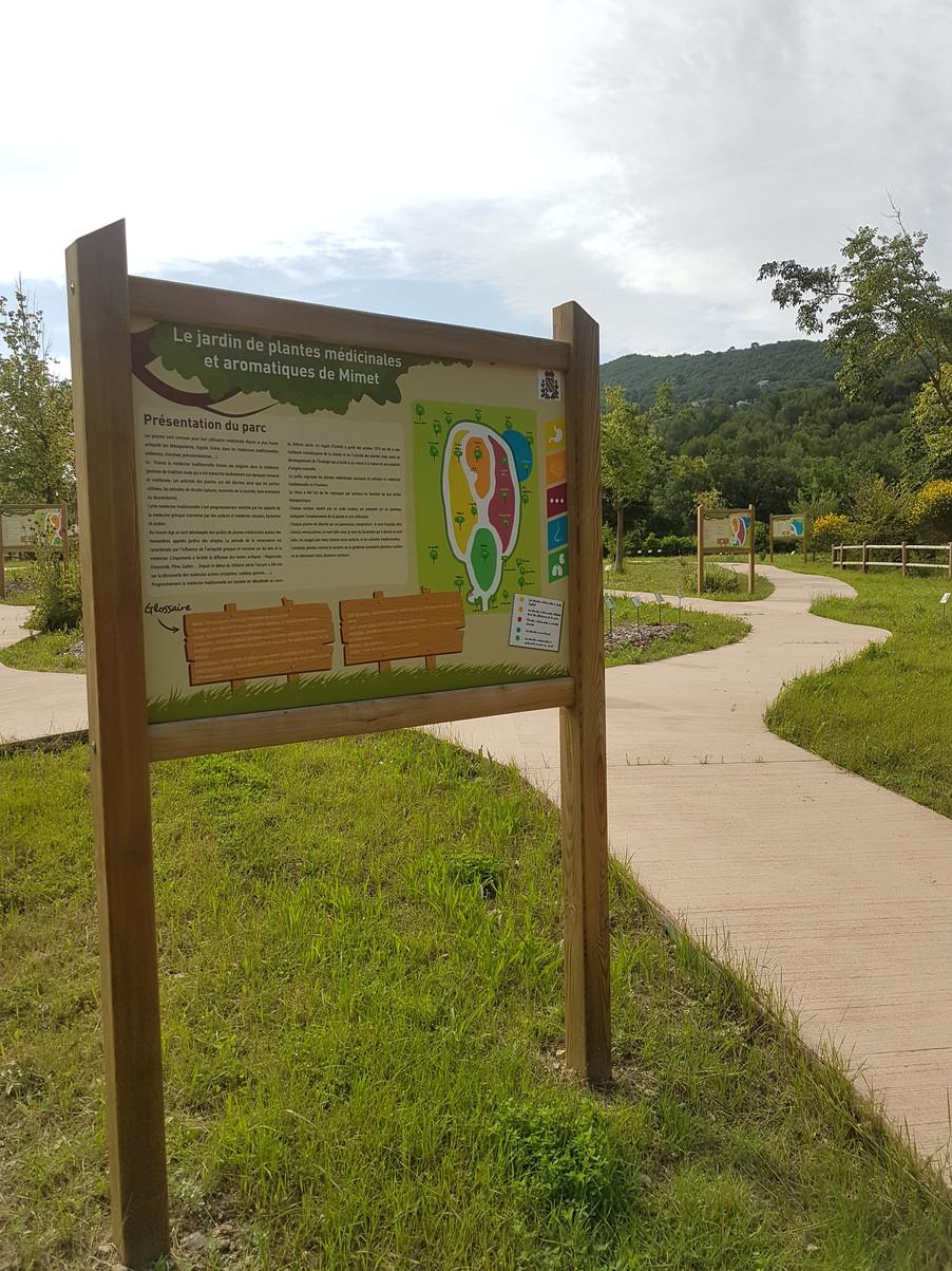 Jardin de plantes médicinales et aromatiques de Mimet