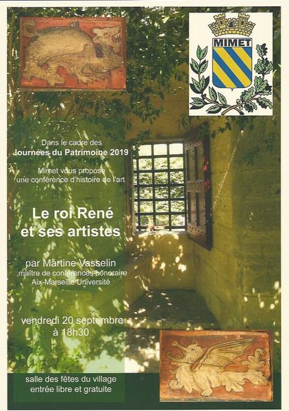 Journées du Patrimoine Conférence par Martine Vasselin - Vendredi 20 septembre à 18h30