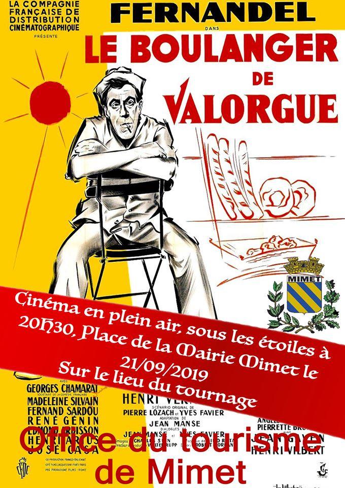 """Projection du film """"Le Boulanger de Valorgue"""" Samedi 21 Septembre"""