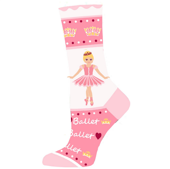 Sugar Plum Ballerina Lightweight Sock