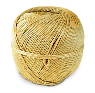 hemp SPRING TWINE polished 5 lb. ball