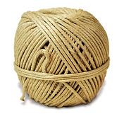 hemp SPRING TWINE polished 1 lb. ball