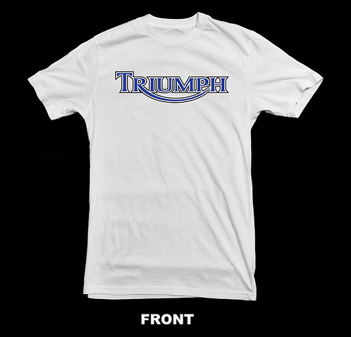 Triumph Motorcycle Vintage Logo T Shirt
