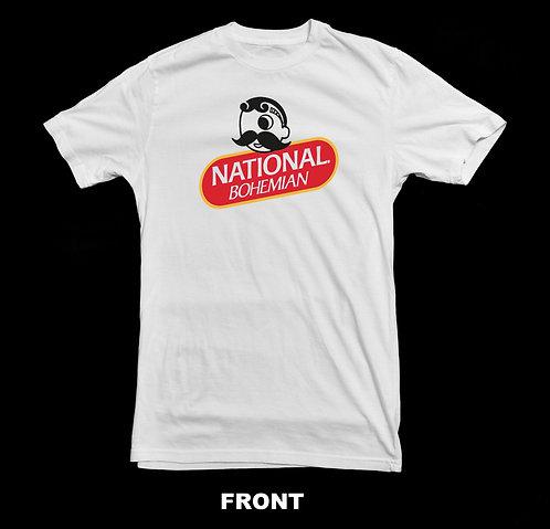 National Bohemian Beer Logo T Shirt | Retro Beer Shirts