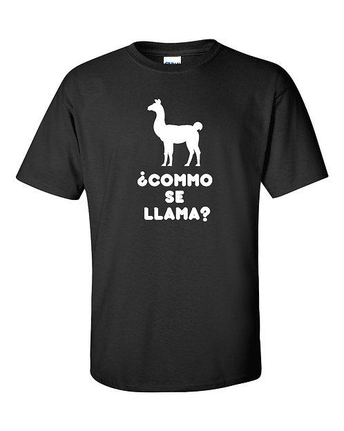 Llama T-Shirt | Como Se Llama T Shirt