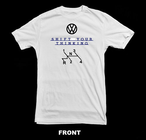 Volkswagen VW Vintage T Shirt | Shift Your Thinking