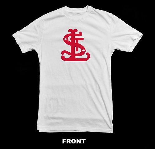 Saint Louis Cardinals Vintage Logo T Shirt | Vintage Baseball Shirt