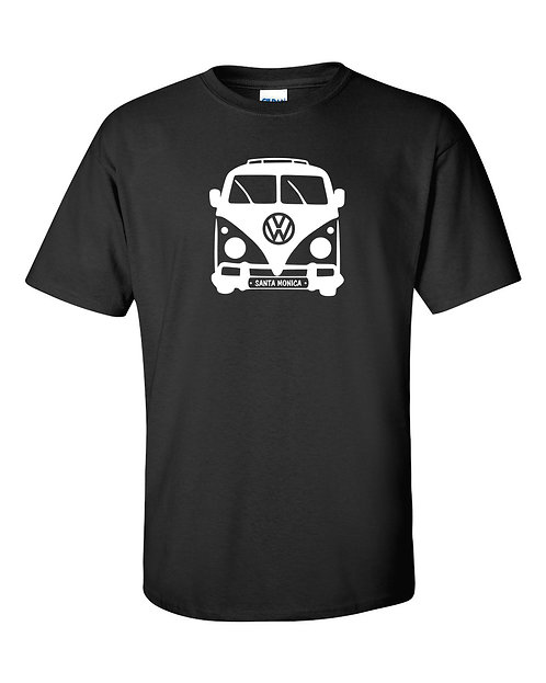 Volkswagen Vintage Bus Santa Monica T-Shirt