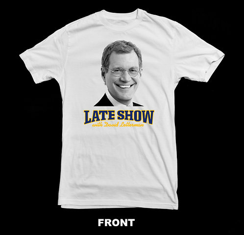 Late Night With David Letterman Classic T-Shirt