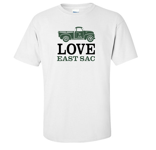 East Sac St. Patrick's Day T-Shirt | Ladies and Unisex Styles