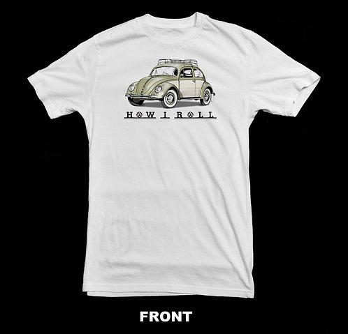 Volkswagen Beetle Vintage 1950'S VW T Shirt | How I Roll