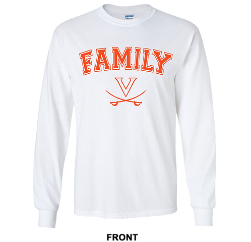 Virginia Cavaliers Long Sleeve T Shirt | Family | March Madness