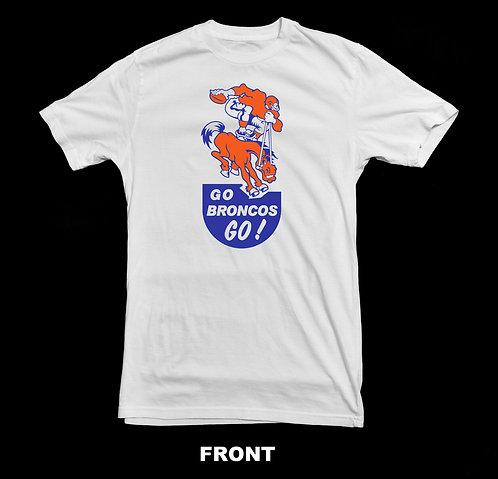 Denver Broncos Vintage 1960's Logo T-Shirt