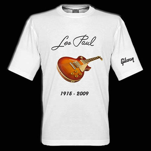 LES PAUL MEMORIAL -  GIBSON GUITAR T-SHIRT