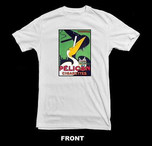 Pelican Brand Cigar T-Shirt | Vintage Nostalgic Cigars