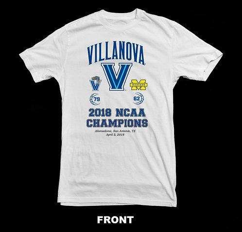 Villanova NCAA 2018 Basketball Champions T-Shirt