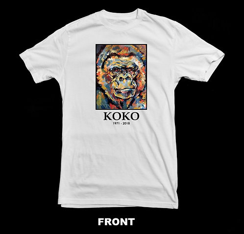 KOKO The Gorilla Memorial T Shirt