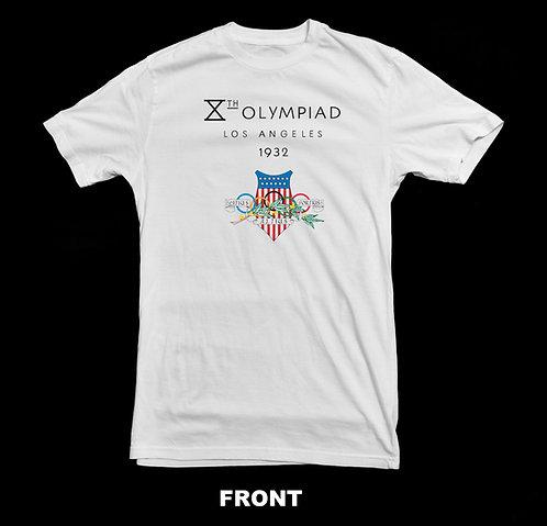 1932 LOS ANGELES (LA) OLYMPIC LOGO (Summer Olympics) T-SHIRT