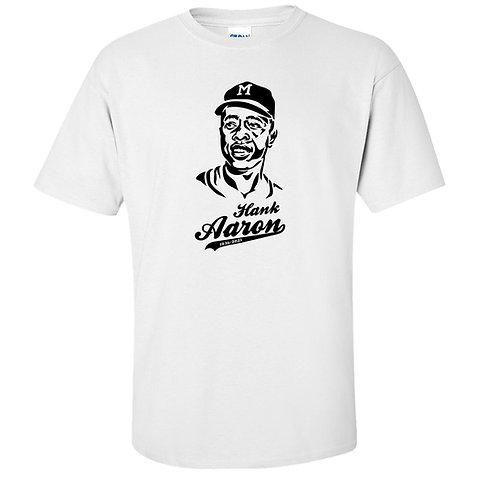 Hank Aaron Baseball Legend Tribute T-Shirt