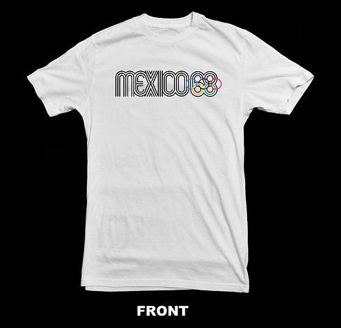 1988 MEXICO CITY OLYMPIC LOGO (Summer Olympics) T-SHIRT