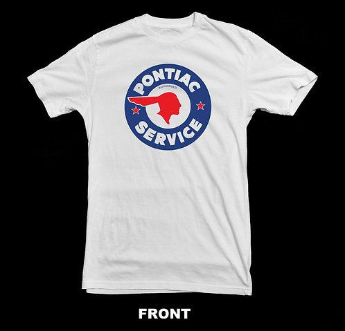 Pontiac Automobile Vintage Service Sign Vintage T Shirt