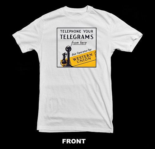 Western Union Vintage Advertisement T Shirt