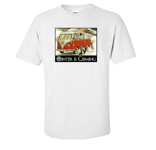 Volkswagen Vintage Bus T Shirt | Winter is Coming Game of Thrones