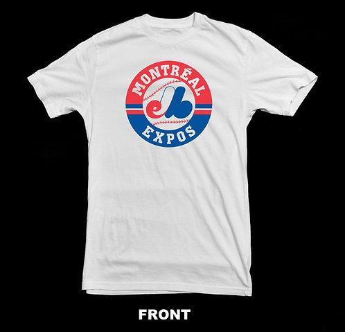 Montreal Expos Retro Vintage Logo T Shirt
