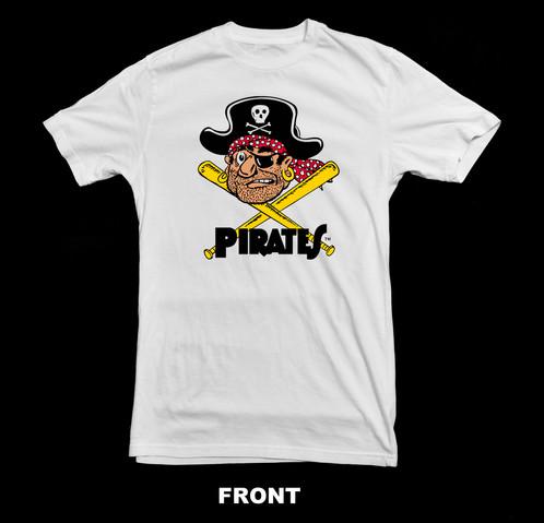 Retro Vintage Pittsburgh Pirates T Shirt Custom T Shirts
