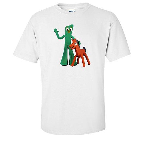 Gumby and Pokey Vintage Cartoon T-Shirt