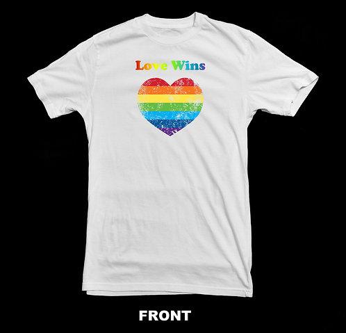 Love Wins LGBTQ T Shirt | Tolerance For All
